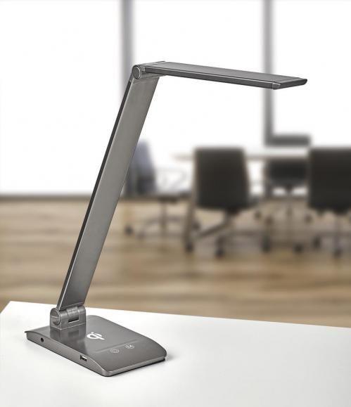LED Schreibtischleuchte mit Touch-Bedienung und Ladegerät