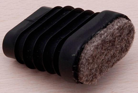 Filzgleiter-Set - 4 Stück für Ovalrohrgestell
