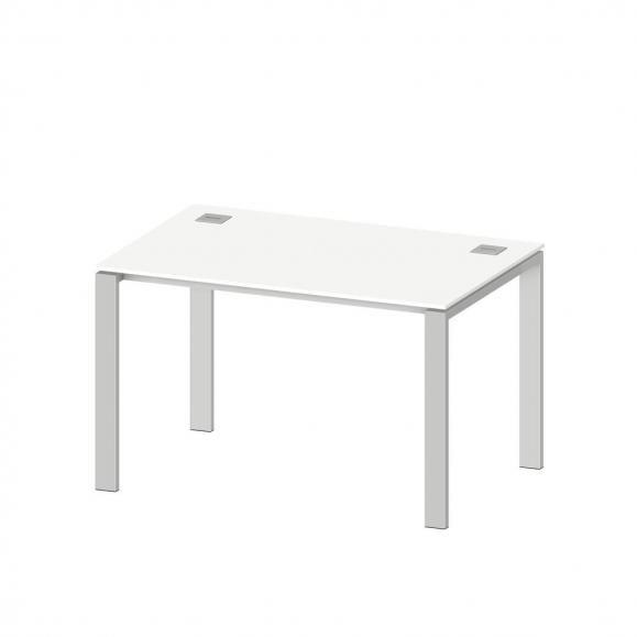 Schreibtisch EVO Basic in Weiß / 160 cm