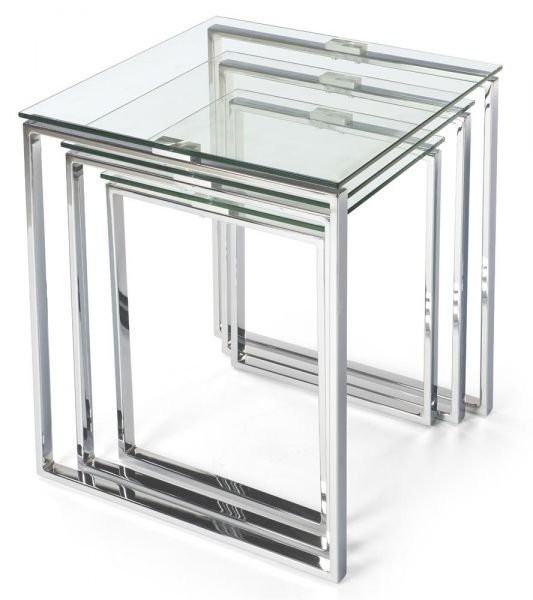 3er Glastischsatz XENIA TRI