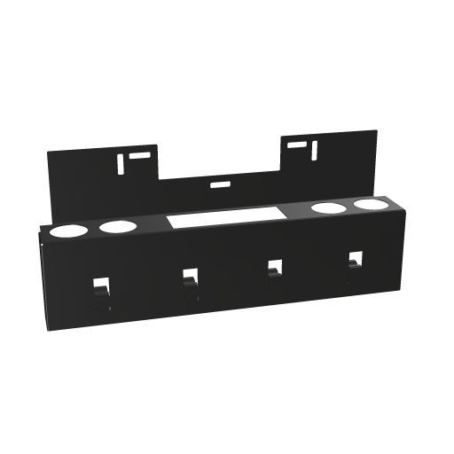 Organisationselement für Monitor caddy, schwarz