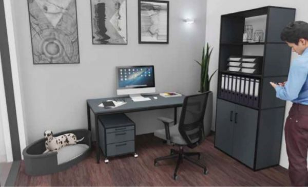 Homeoffice black 2 Konvolut-Aktionsangebot