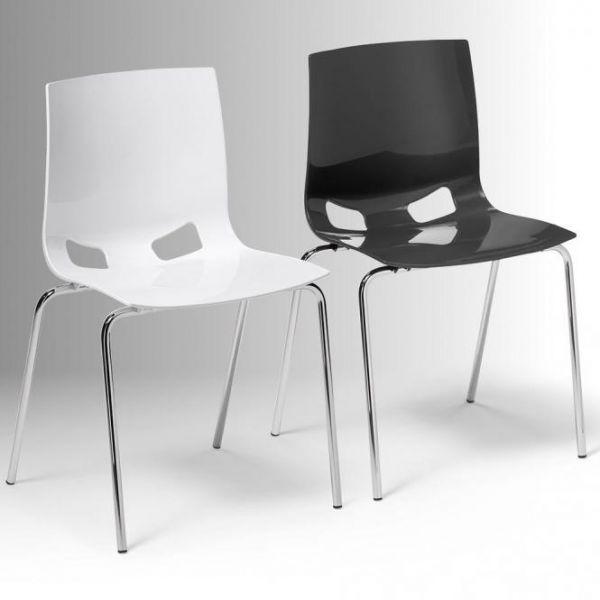 Besucherstuhl FONDO mit Sitz-Rücken-Schale
