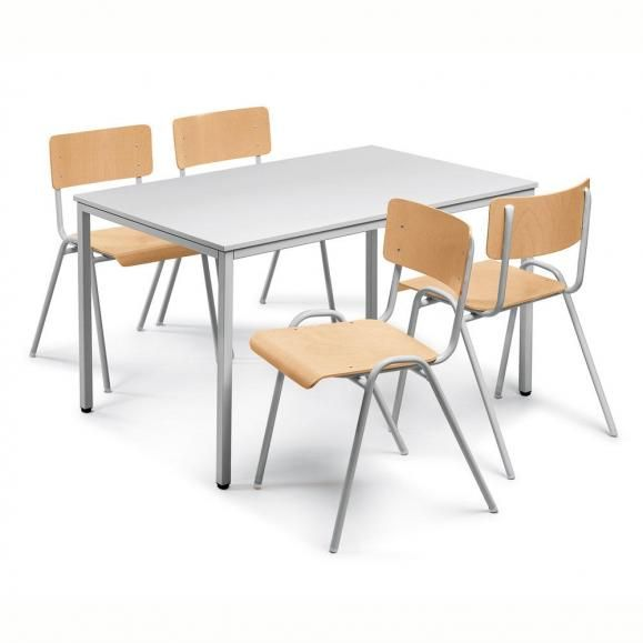 Norwin Kantinen-Set 1 in Alusilber RAL 9006