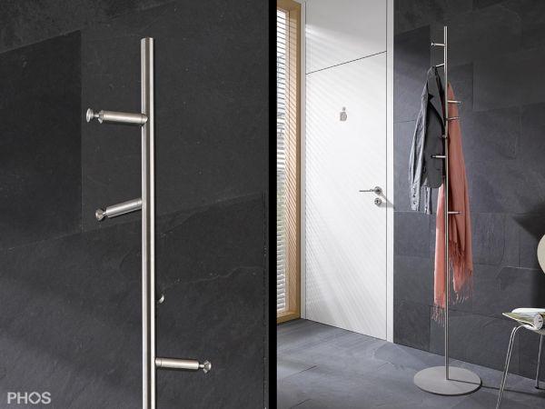 PHOS_GSTH10_01_Garderobenstaender_Flur_Edelstahl-Design_grau